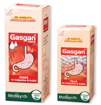Gasgan Drops And Pills - Medisynth Chemicals Pvt  Ltd , D-282