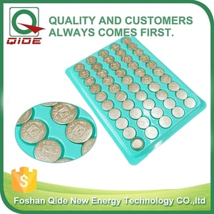 AG10/LR1130/389 Mercury Free Button Cell Battery For Watch