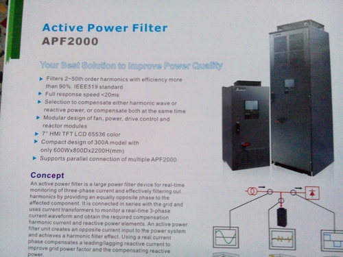 Active Power Filter  in  Naraina