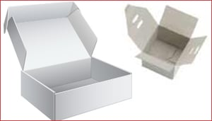 Cardboard Boxes For Food And Fruit Packing