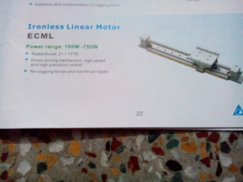 Ironless Linear Motor