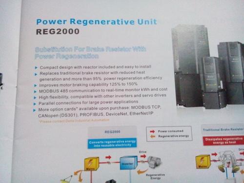 Power Regenerative Unit