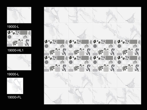 Digital Ceramic Wall Tiles (Satin) in  Jagat Puri