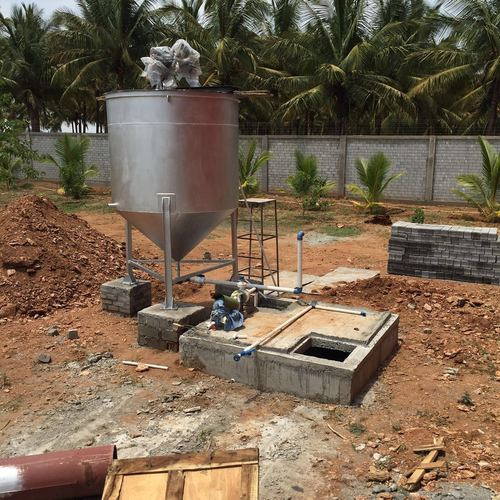 Effluent Treatment Plant For Acid Neutralization And Crate Washing