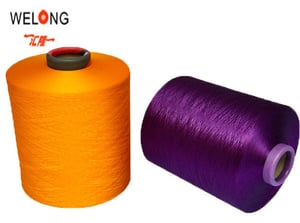 Polyester Textured Yarn For Curtain