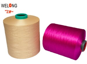 Polyester Textured Yarn For Sofa Cloth