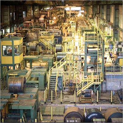 Electrolytic Cleaning Line