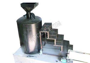 Raw Cashew Steaming Machine With Boiler