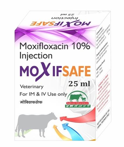 Moxifsafe Moxifloxacin 10% Injection 25ml