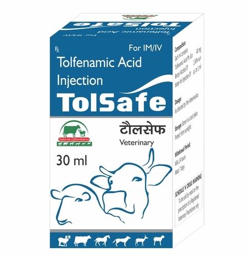 Tolsafe Tolfenamic Acid Inejction 30 Ml