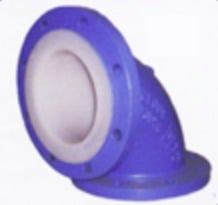 PTFE, FEP and PFA Lined Pipe Fittings