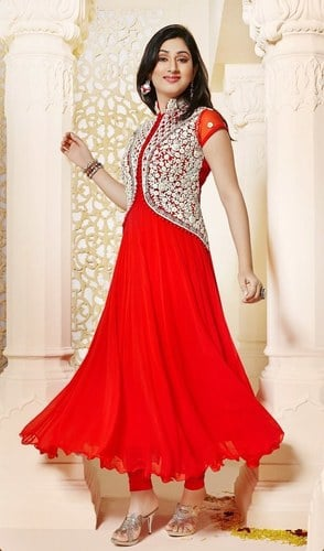 Embroidered Ethnic Wear Suit