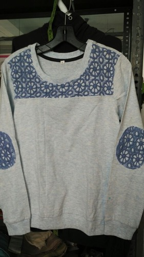 Ladies Single Jersey With Sniffly High Fashion Top