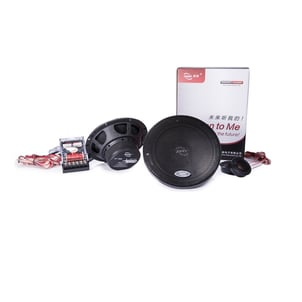2-Way 6.5 Inch Component Speaker For Car Audio