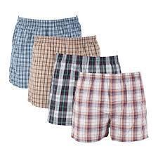 Mens Cotton Boxer Shorts