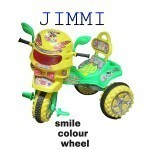 Smile Colour Wheel Tricycle