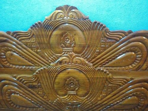 Wooden Designer Bed Halder Construction Vill Katasole Collage