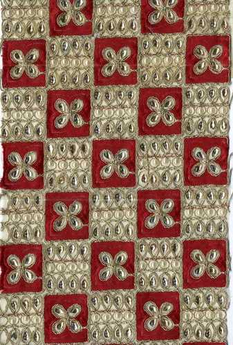 Allover D-2 Fancy Embroidery Fabrics in   Dumbhal