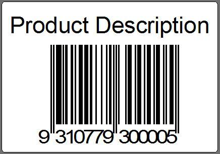 Barcode Label in  Mhow