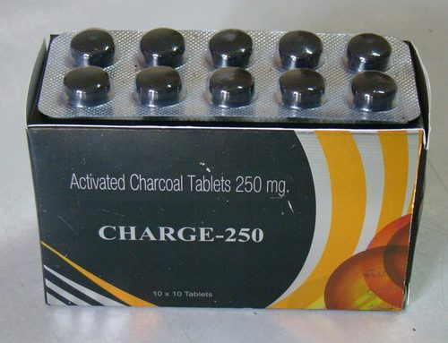 Charge-250 Activated Charcoal Tablets