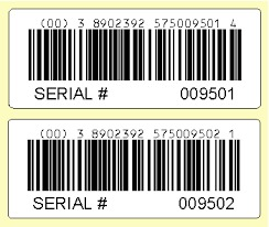 Fine Finish Barcode Label in  Mhow