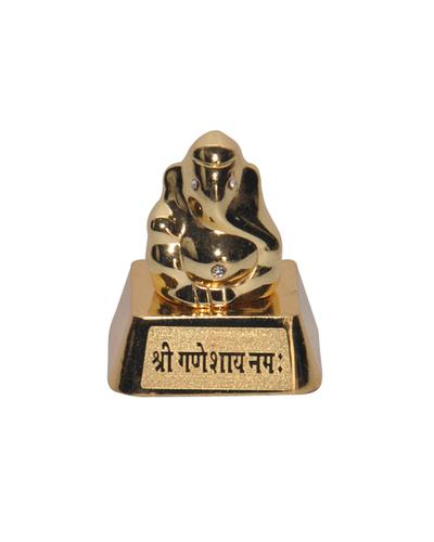 Small Metal Ganesha Statue