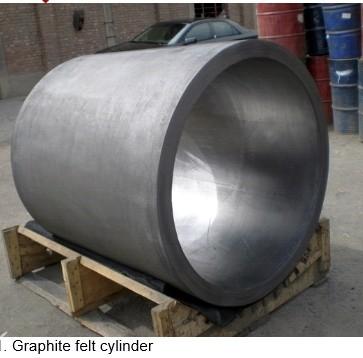 Graphite Felt Cylinder