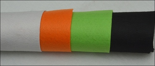 Needle Punched Polyester Feet Fabric