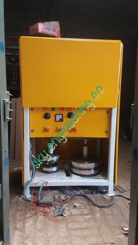 Semi Automatic Disposable Thali Making Machines