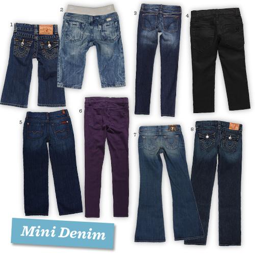 Kids Mini Denim Jeans