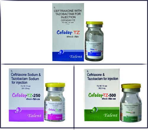 Ceftriaxone With Tazobactam For Injection