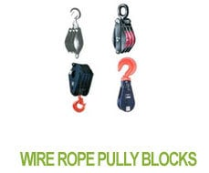 Wire Rope Pully Blocks