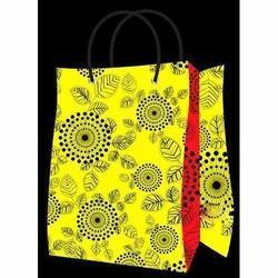 Yellow Printed Shopping Bags in  Dilshad Garden