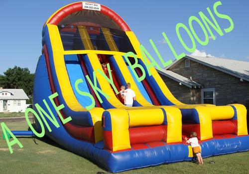 Big Inflatable Sliding Jump Bouncy