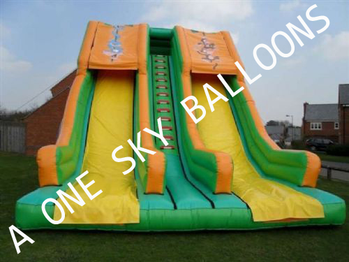 Childrens Inflatable Sliding Bounce