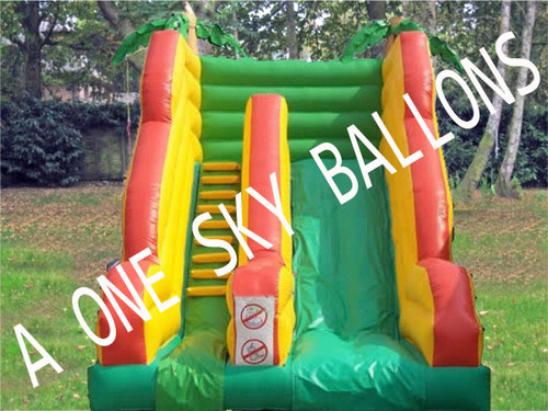 Small Slid Inflatable Bouncy