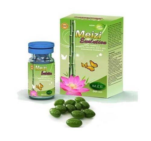 Meizi Evolution Botanical Slimming Soft Gel Weight Loss Capsules