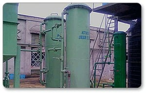 Pressure Sand Filter And Activated Carbon Filter