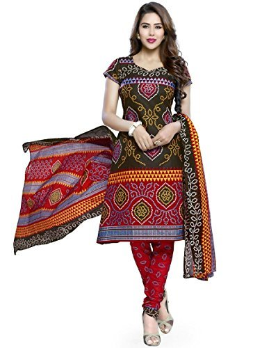 Bandhani Unstitched Suits