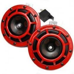 Red grill supertone horn