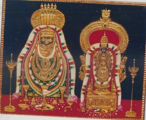 God Tanjore Painting