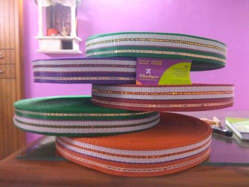 1.5 Inch Jari Multi Color Plastic Niwar