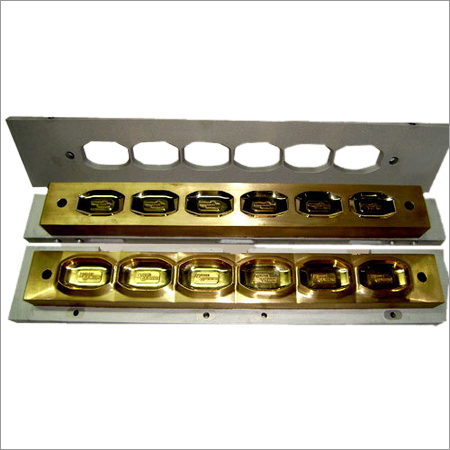 Toilet Soap Mould in  5-Sector