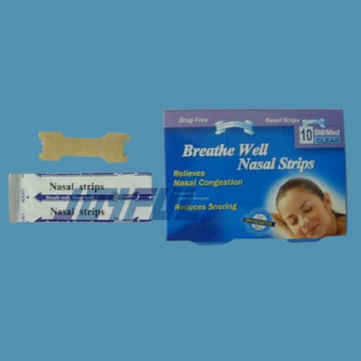 Nasal Strips Certifications: Iso