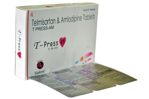 T-Press-Am Telmisartan/ Amlodipine Tablets