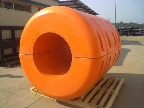 Dredging Floats With High Abrasion Resistance
