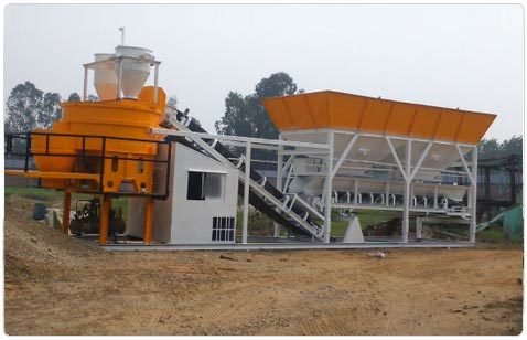 Industrial Concrete Batching & Mixing Plant