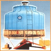 Bottle Shape FRP and Rectangular Wooden Cooling Tower