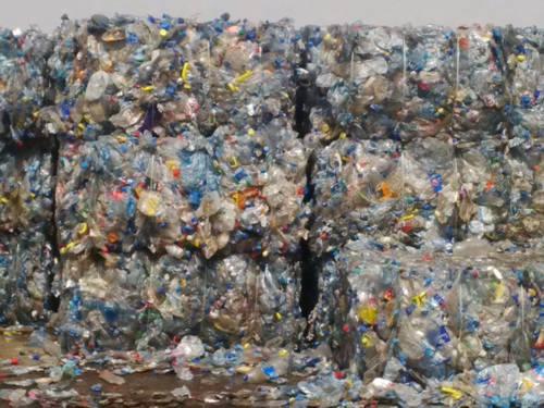 PET Bottle Waste Scrap