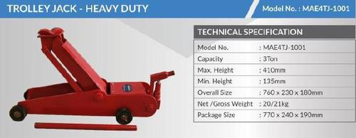 Robust Heavy Duty Trolley Jack